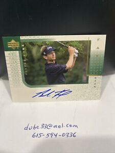 2001 UD Upper Deck Players Ink Brad Faxon MINT Auto Signature Autograph