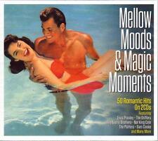 MELLOW MOODS & MAGIC MOMENTS -  VARIOUS ARTISTS - 60 ROMANTIC HITS (NEW 2CD)