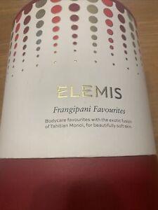 Elemis Frangipani Favourites Skincare Gift Set GENUINE £90 Value