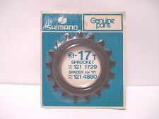 VINTAGE NOS SHIMANO 17T BICYCLE HUB FREEWHEEL CASSETTE COG SPROCKET