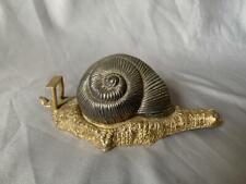 Vintage Gold Toned Dunhill Tape Dispenser Snail