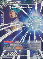 Dragon Ball Super Card Game ! Vegeta SSB, soif de combat BT2-040 SR - VF/SUPER
