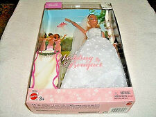 BARBIE - WEDDING BOUQUET BARBIE DOLL #C6355 - BLONDE HAIR - NEW - NRFB