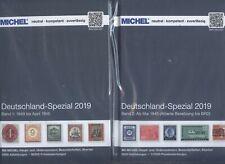Michel Deutschland Spezial 2019 2 Bände komplett SCHADENEXEMPLARE!!