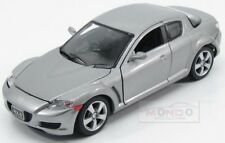 Mazda Rx-8 Coupe 2005 Silver MotorMax 1:24 MTM73323S