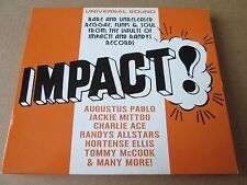 Soul Jazz Records Presents Impact! (CD) NEW AND SEALED VERY RARE REGGAE ROOTS