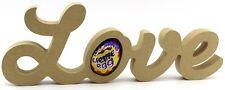 Love Freestanding MDF Easter Creme Egg holder Craft 18mm thick