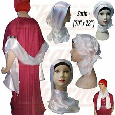 Satin Hijab Scarves & Shawls for Women