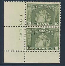 Canada 209 1934 Loyalist Immigrants VF NH  plate# pair