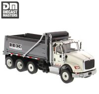 Diecast Masters 1/50 International Grey HX620 Dump Trucks Alloy Car Model Toys