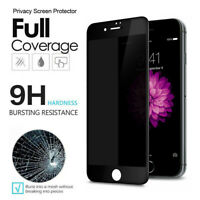 For iPhone 8 7 Plus 6s 6 Plus Screen Protector Tempered Glass Privacy Full Cover