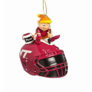 NCAA Painting Elf Ornament