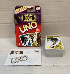 The Batman UNO 2005 Complete