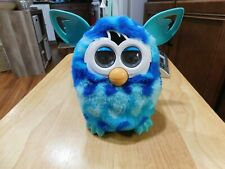 FURBY 2012 BLUE CAMOUFLAGE VERY TALKATIVE WORKS GREAT