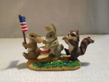 Charming Tails Free To Be Friends 89/116 4th of July USA Patriotic Mouse NIB