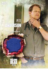The Walking Dead Season 5 Costume Relic Card Pete Anderson