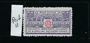 NEW ZEALAND SCOTT #E1A - 1903-26 SPECIAL DELIVERY PERF 11- MINT NEVER HINGED