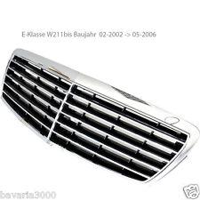 B-Ware original Mercedes Frontgrill schwarz für E-Klasse W211 bis Bauj.05/2006