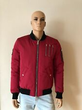 The New Designers by Alexander Pap Bomber Jacket RED Size L