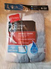 Hanes Men's FreshIQ™ Cushion Crew Socks 6-Pack