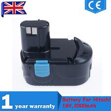 18V 2.0Ah Ni-Cd Battery For Hitachi EB1812S EB1814SL EB1820 EB1824L EB18B,322876