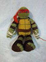 """Northwest Teenage Mutant Ninja Turtle Raphael 18"""" Plush Soft Toy Stuffed Animal"""