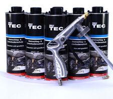 6 Unterbodenschutz überlackierbar schwarz +1UBS/HV Spritzpistole Autolack/EV0014