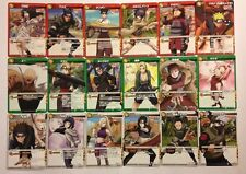 Naruto Miracle Battle Carddass Reg/Uncos Set NR03 60/60