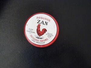 BOITE METAL ANCIENNE  REGLISSE ZAN