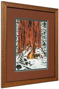 "Bev Doolittle ""Christmas Day Give or take a week"" Matted & Framed Art Print"