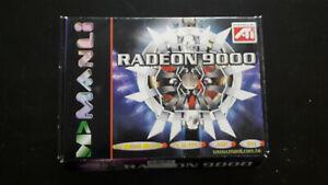ATI radeon 9000 AGP 64MO MANLI TV Ouput DVI + boitier