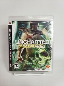 Uncharted: Drake's Fortune (PlayStation 3, 2007) PS3 Brand NEW 1st Print Sealed