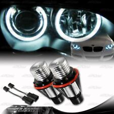 For 2002-2008 BMW 7 Series E65 E66 6w 7000k White LED Halo Angel Eye Bulbs X2