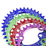 104BCD MTB Round/Oval Narrow Wide Bycicle Chainring 32/34/36/38T Bike Chainwheel