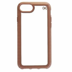 Speck Presidio Show Series Case Cover for iPhone 8 7 6s - Clear/Pink Rose Gold