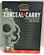 PDN Conceal & Carry 3 DVD Set Range Training Drills Rob Pincus Personal Defense