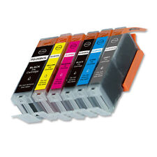 6PK Combo Printer Ink plus grey for Canon 250 251 iP8720 MG7520 MG7120