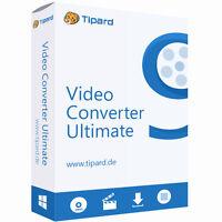 Video Converter Ultimate Tipard dt.Vollversion lebenslange Lizenz  ESD Download