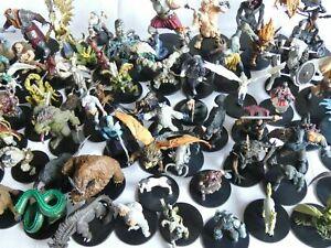 Random Large/Huge New Dungeons & Dragons Official Prepainted Miniatures - Bulk