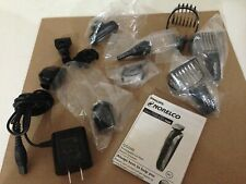 Philips Norelco Multigroom Series 7000 Grooming Trimmer 10 Attachments & Charger