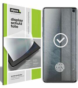 6x Schutzfolie für Samsung Galaxy S10 matt Displayschutzfolie Display Schutz