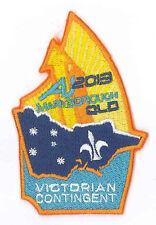 AJ2013 - AUSTRALIA SCOUT JAMBOREE - VICTORIAN VIC SCOUTS CONTINGENT BADGE