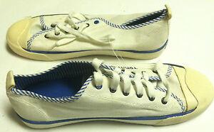 TOMMY HILFIGER - SNEAKERS - WHITE - SZ 7.5 -  NWOB - B-SHO-5