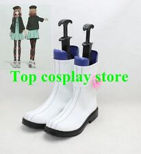 Amnesia The Dark Descent The heroine Cosplay Shoes Boots white with flower shoe