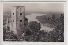 AK St. Andrä-Wördern, Ruine Greifenstein, 1943 Foto-AK