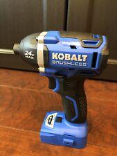 """Kobalt 24-Volt 24V Max 1/4"""" Cordless Brushless Impact Driver Drill KID 324B-03"""