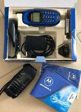 Motorola CD930 blau Handy (ohne Simlock) inkl. Anleitung etc.