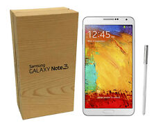 NEW Samsung Galaxy Note 3 SM-N900A (GSM UNLOCKED) 32GB LTE White in Open Box