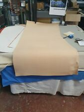 Natural Veg Tan Leather Panel 2.3-2.4mm Thickness LOT 1921