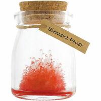 Kristalle züchten - Element Feuer, Experimentierkasten für junge Forscher